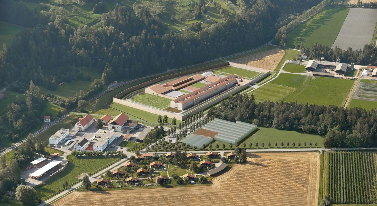 Justizvollzugsanstalt Cazis/Realta, Kanton Graubünden (CH)