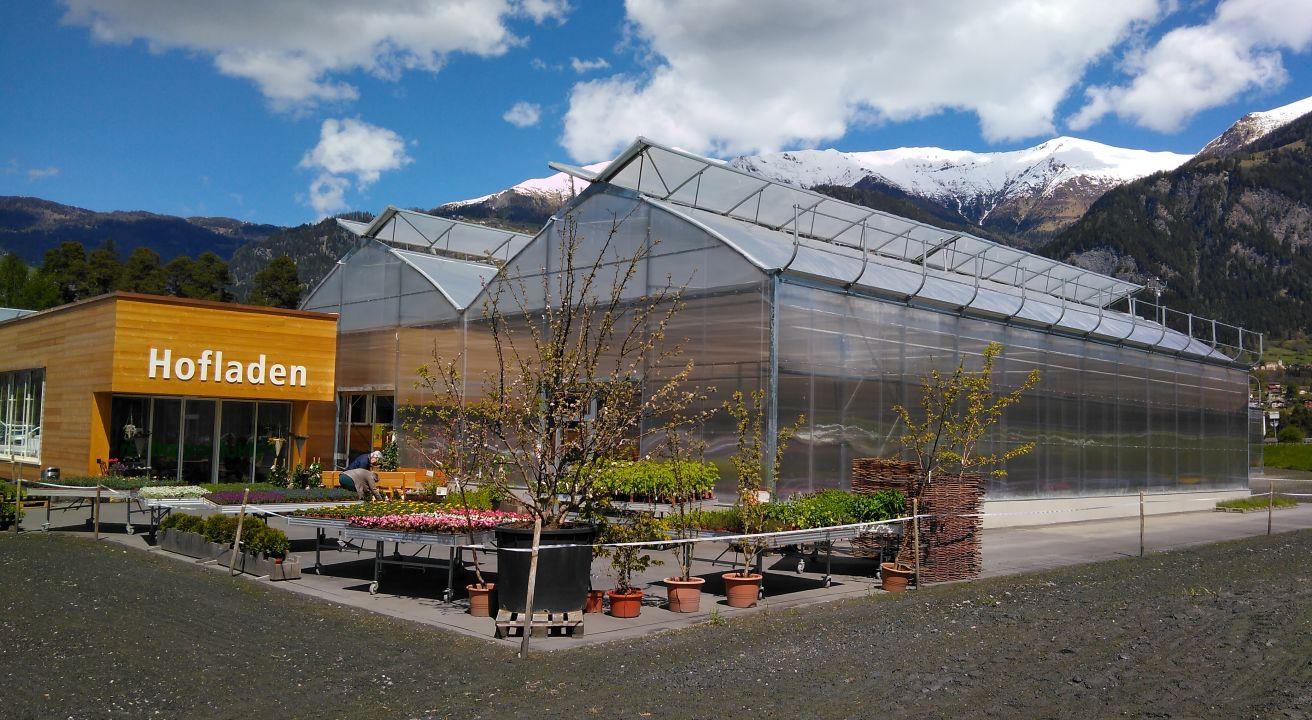 JVA Cazis Gärtnerei und Verkauf, Kanton Graubünden (CH)