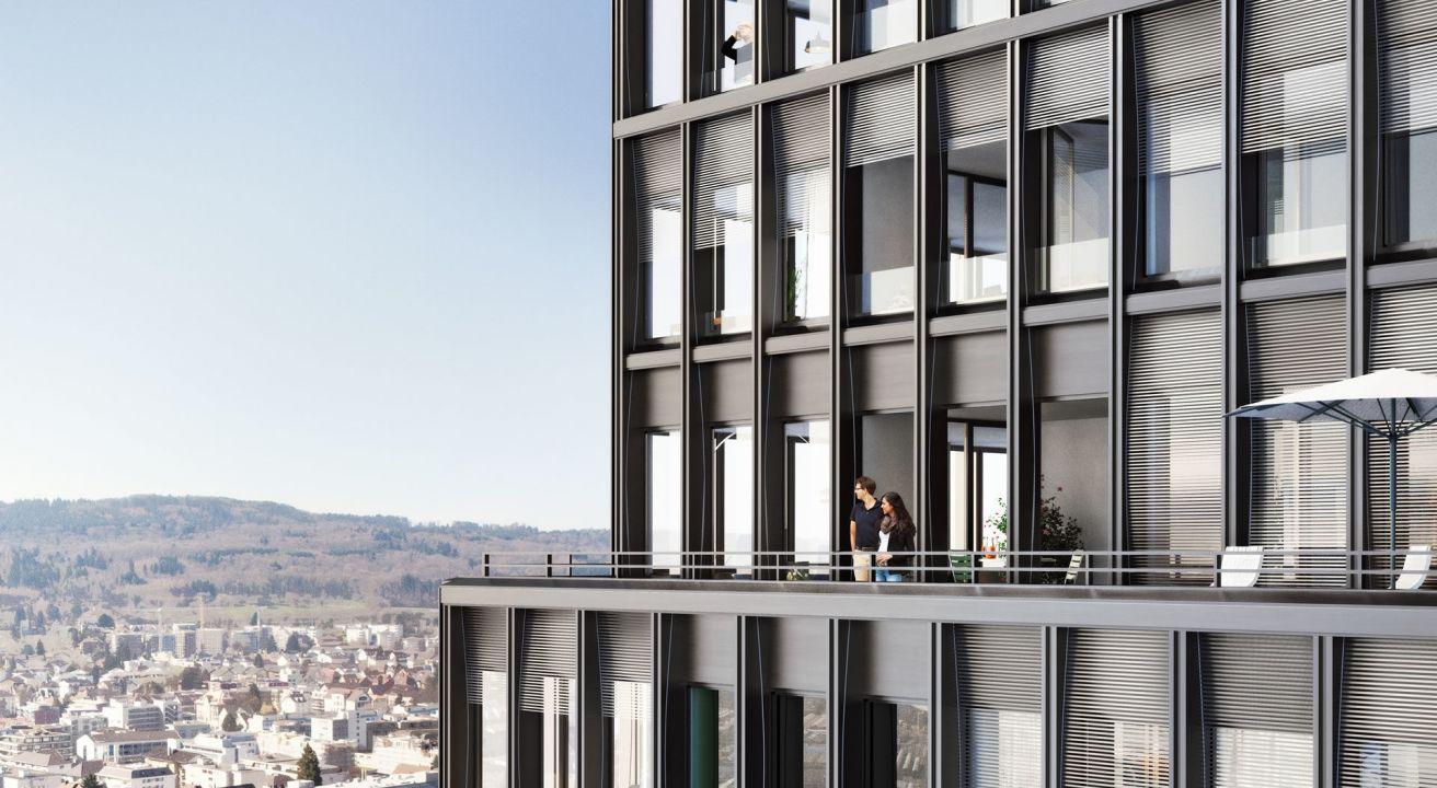 WestLink, Wohn-Bürohochhaus Zürich/Altstetten (CH)
